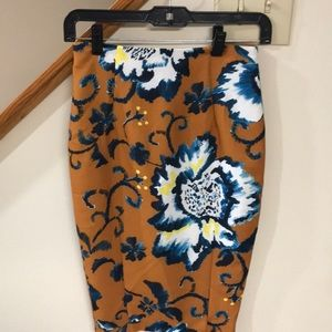 H&M brand. Multi colored skirt. New!